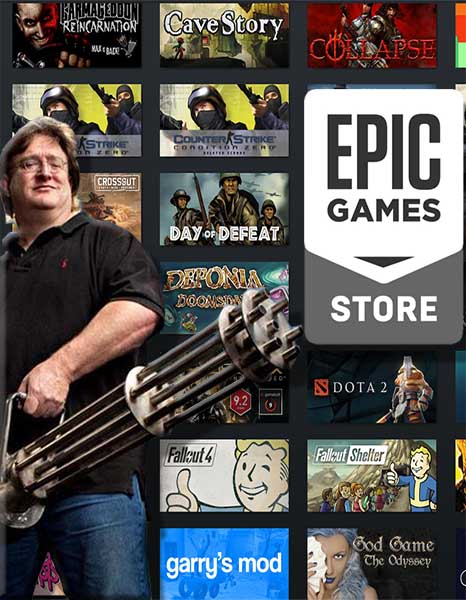 Valve не слишком рады, что Epic Store копирует данные Steam