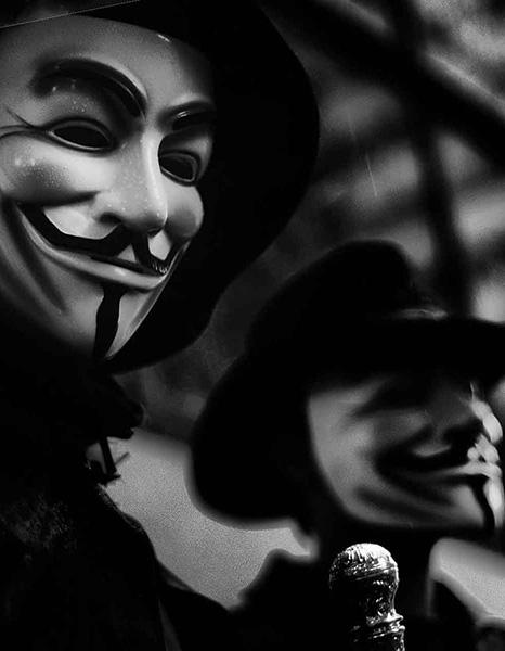 Анонимусы забрали хактивизм с собой в магилу