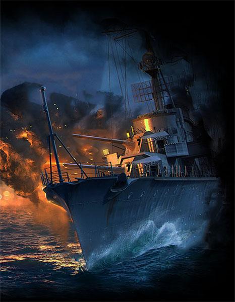 Бесплатные премиум корабли в World of Warships