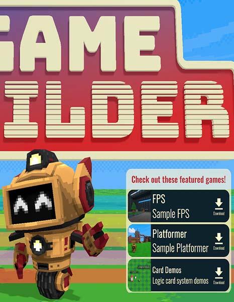 Создай свою 3D игру без навыков программирования в Game Builder